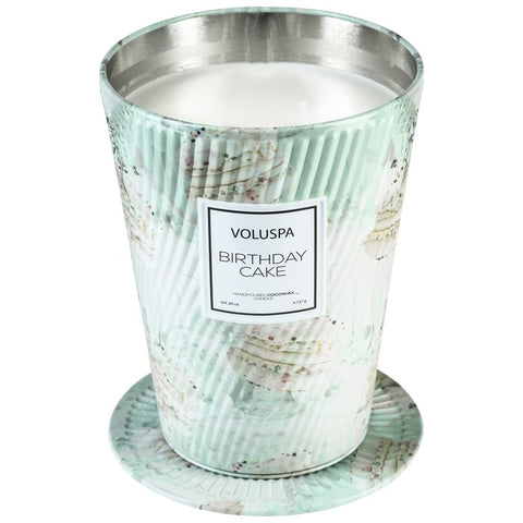 Voluspa Birthday Cake Ice Cream Cone