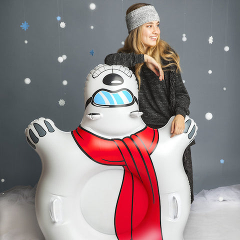 Big Mouth Giant Polar Bear Snow Tube