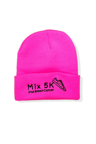 Mix 5K End Breast Cancer Beanie