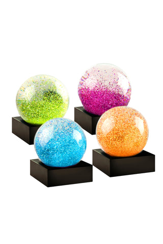 Jewel Snow Globe 4 Piece Mini Set