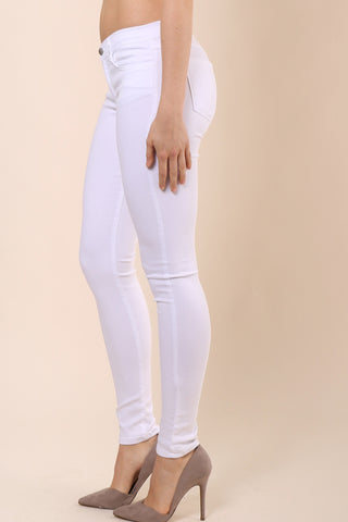 Flying Monkey White Skinny Jean