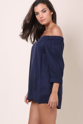 Decker The Valley Top - Navy