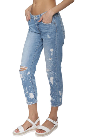 Flying Monkey Distressed Boyfriend Jeans
