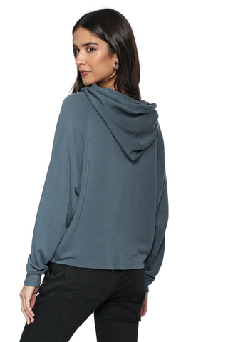 Z Supply The Premium Fleece Dolman Hoodie