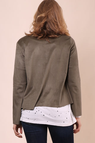 Jack By BB Dakota Joline Faux Suede Jacket