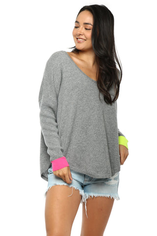 WYSE Emilie Colour Pop Sweater