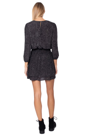 Rails Inez Dress - Slate Python