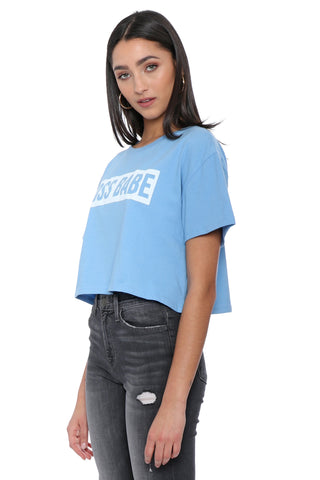Sunday Stevens Boss Babe Crop Top