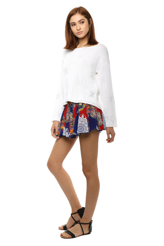 Raga Fiesta De Playa Mini Skirt