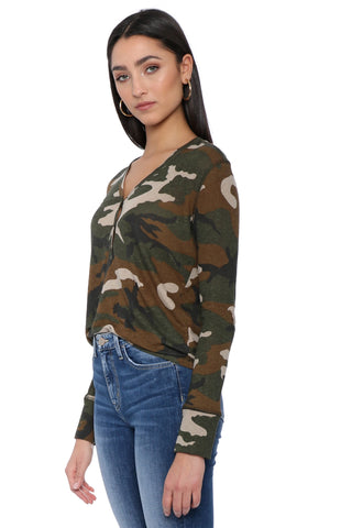 Rails Jordoun Jungle Camo Top