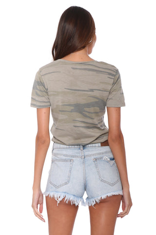 Z Supply The Camo Pocket Tee