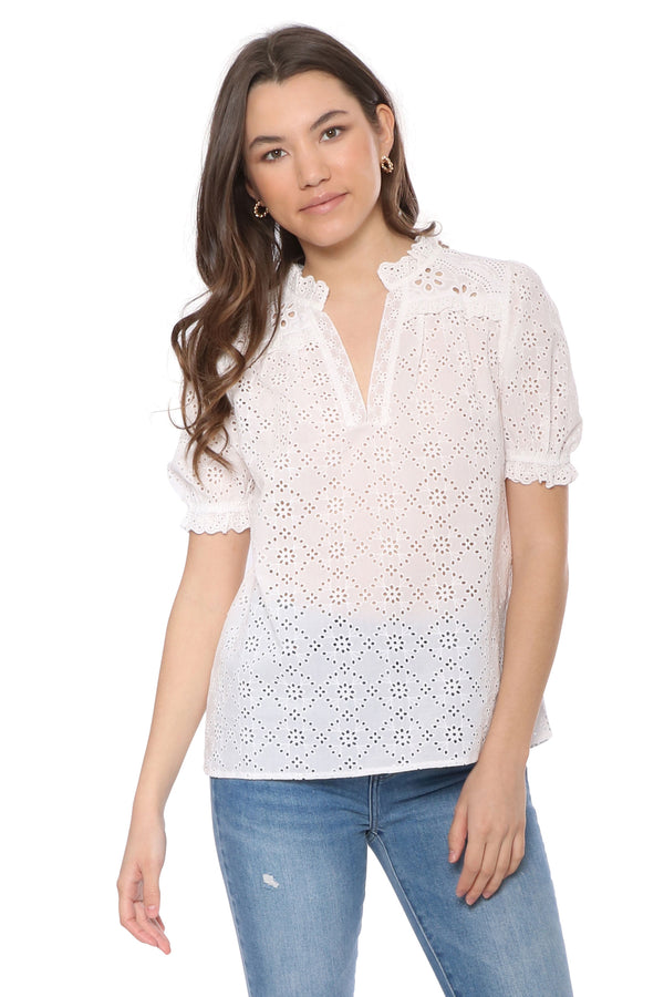 Palm Beach Lace Top