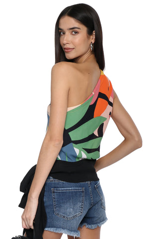 Darah Dahl One Shoulder Top