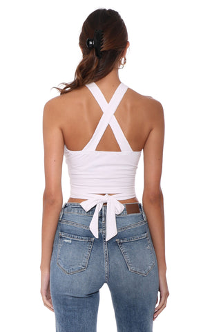 Jordyn Jagger Strappy Crop Top