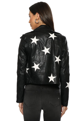 Brooklyn Karma Star Power Moto Jacket