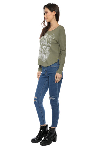 JET x Mixology Love Cut Sweatshirt