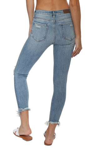 Hidden HR Crop Distressed Skinny