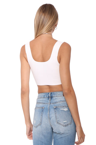 Commando Faux Leather Crop Top