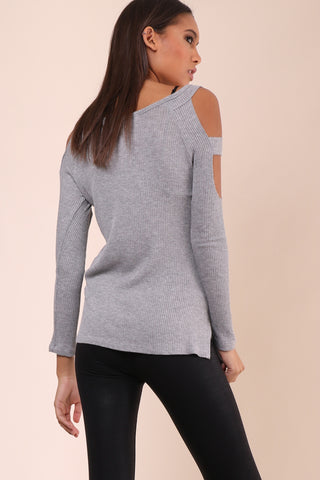 Jac Parker Comfy Cold Shoulder Top