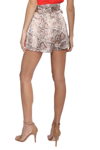 Robertson & Rodeo Belted Snake Shorts
