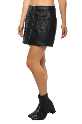 Jack Cohen Quilted Pocket Skirt