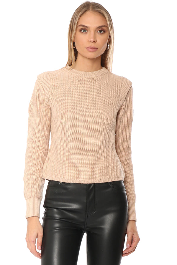 Pullover With Shoulder Detail