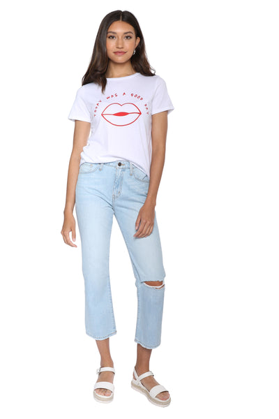 0bbdbb0b532 Crop Tops. Get your student discount here! sunday stevens today was a good  day tee ...