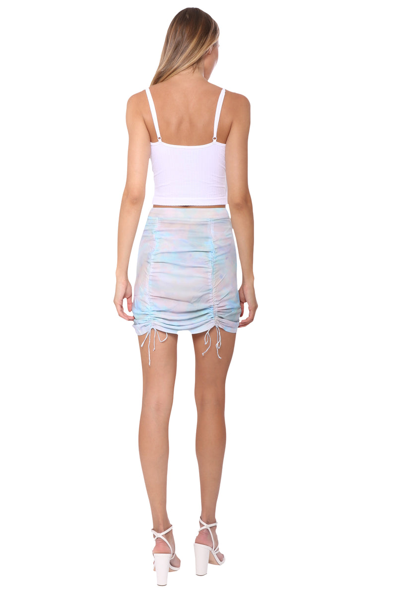Brooklyn Karma Aquamarine Skirt