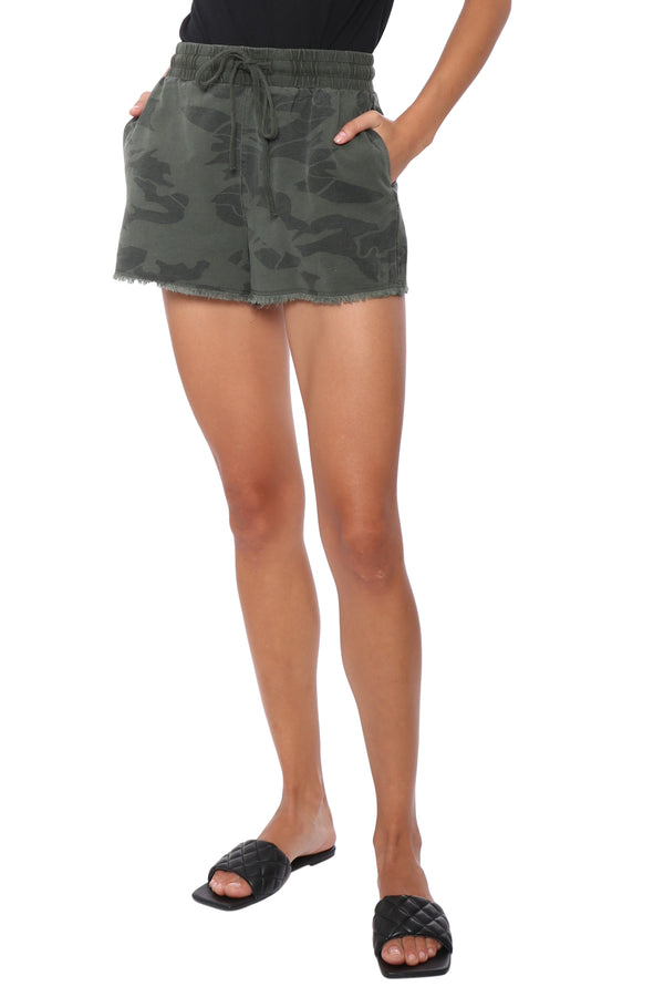 Brooklyn Karma Camo Denim Short