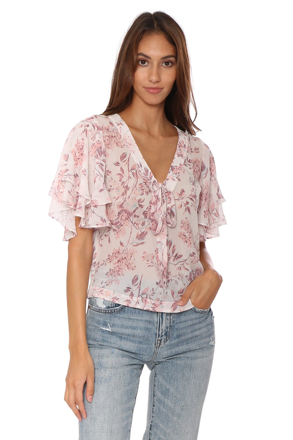 Bryce Tiered Sleeve Blouse
