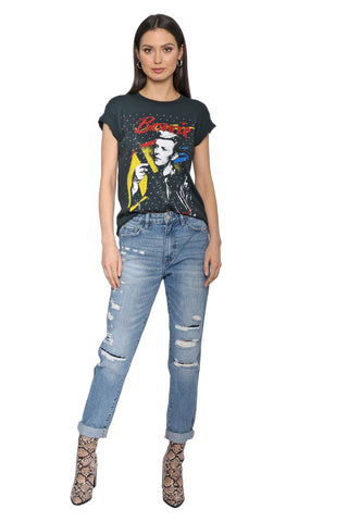 Daydreamer David Bowie Studded Tour Tee
