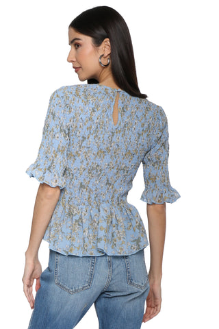 W.A.P.G. Floral Gardens Top
