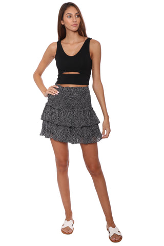 Jac Parker Cut Out Crop Top