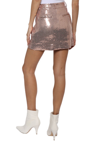 BB Dakota Modern Love Mini Skirt