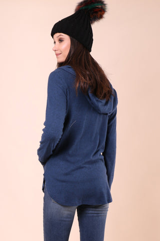 Jac Parker Weekender Zip Up Hoodie - Blue