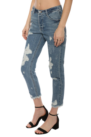 Brooklyn Karma Distressed Vintage Jeans