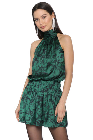 Robertson & Rodeo Emerald Mock Neck Dress