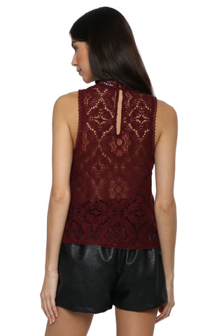 BB Dakota Play Nice Lace Top