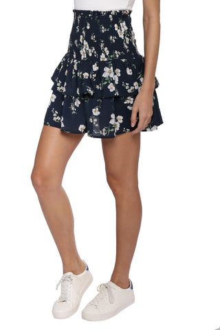 W.A.P.G. Liliana Floral Skirt