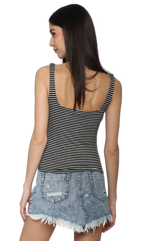 Jac Parker Stripe Super Soft Tank