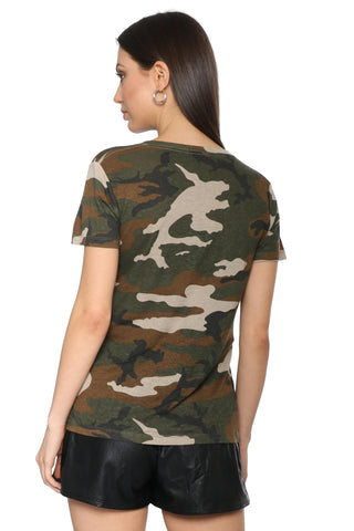 Rails Cara Jungle Camo Tee