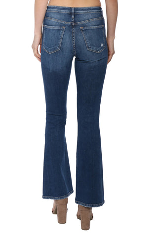 Flying Monkey HR Distressed Flare Jean