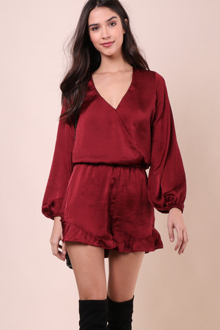 Show Me Your Mumu Rocky Romper - Ruby