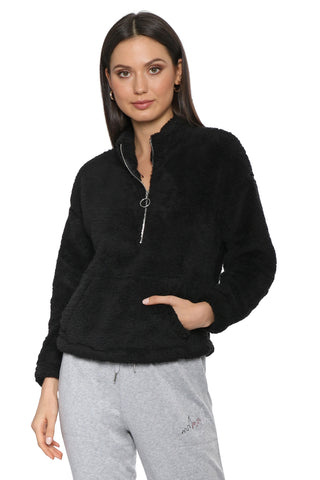 Jac Parker Brushed In Fluff Half Zip