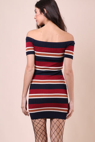 Gab Kate Celine Off The Shoulder Dress