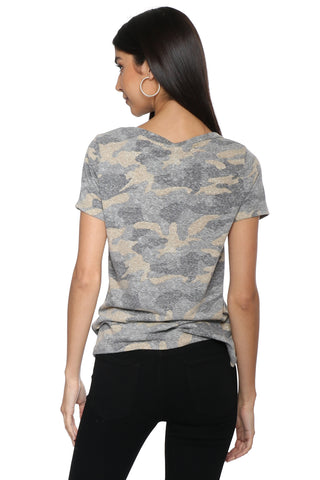 Jac Parker Faded Camo Tee