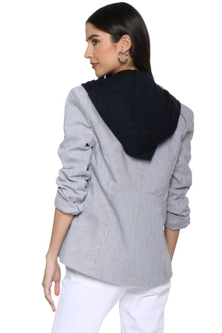 Decker Hooded Blazer