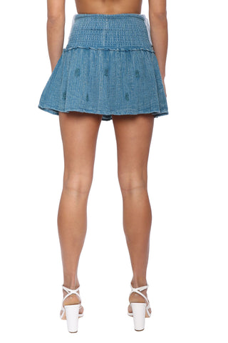 Raga Indigo Dreams Short Skirt