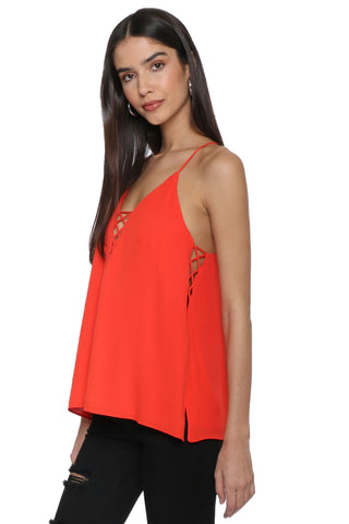 Decker Criss Cross Cami Top