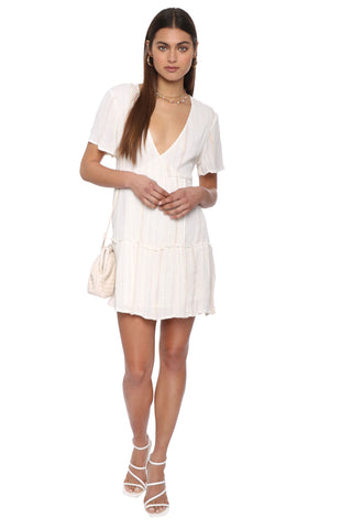 Raga Golden Rules Short Wrap Dress